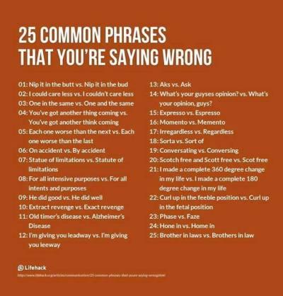 25 Sayings